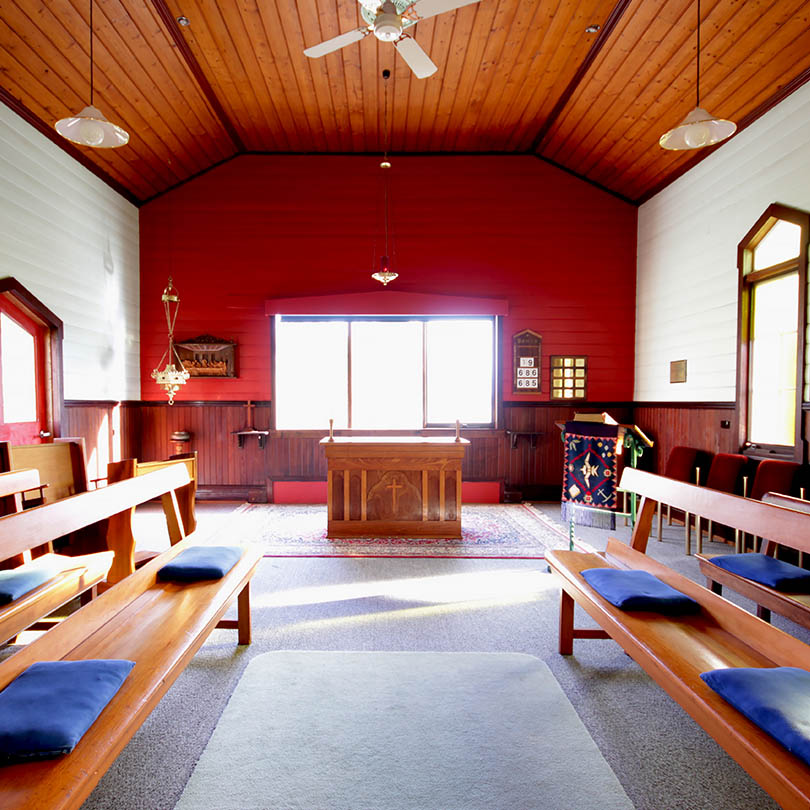 An image of The Chapel at The Abbey, Raymond Island Australia